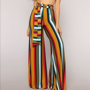 Multi color Stripe Set